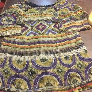 cold shoulder tunic show me your MUMU small